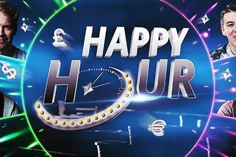 Aproveite as Happy Hours do partypoker e Ganhe Pontos em Dobro