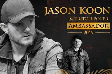 Jason Koon é o Novo Embaixador das Triton Poker Series
