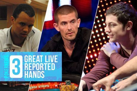 Three Great Live Reported Hands: Gus Hansen and a Double Dose of Ivey