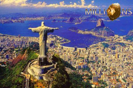 Ganhe um Pacote de US$ 12.000 para o partypoker Millions do Rio