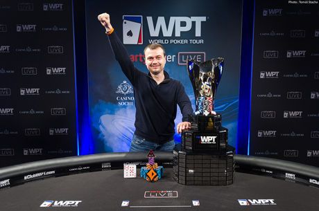 Denys Shafikov Becomes First WPT Russia Champ to Tune of $254,400