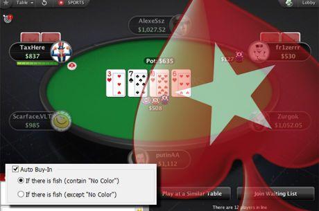 Απαγόρευση στα seating scripts από PokerStars και πιο γρήγορα cash τραπέζια