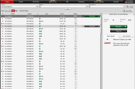 """PokerStars va interzice softurile de selectie automata a meselor """"cu pesti"""""""
