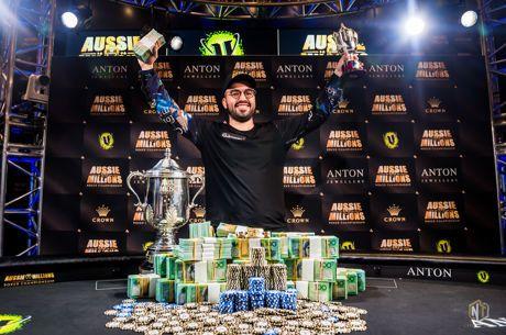 Брин Кенни - победитель главного турнира Aussie Millions 2019