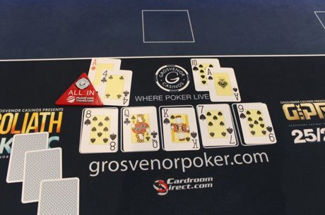 Man Wins Poker Tournament; Anon Takes Down GUKPT London