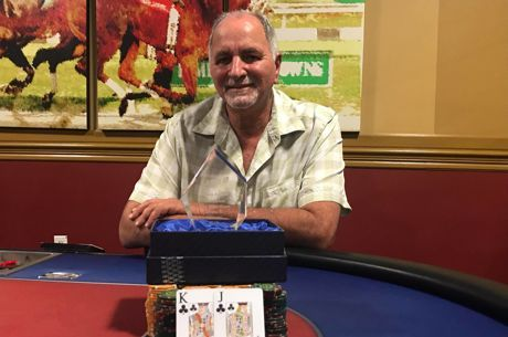 Larry Negron Wins 2019 Ante Up Poker Tour Tampa Bay Downs Main Event