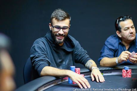 Eduardo Rodrigues Lidera Mesa Final do Main Event do BSOP Iguazu