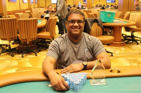 Victor Ramdin Tops Five-Way Chop at Parx