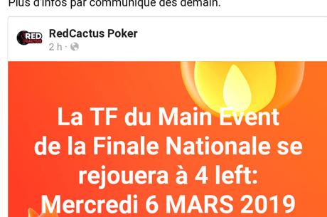 Red Cactus : La finale aura lieu début mars sur PokerStars