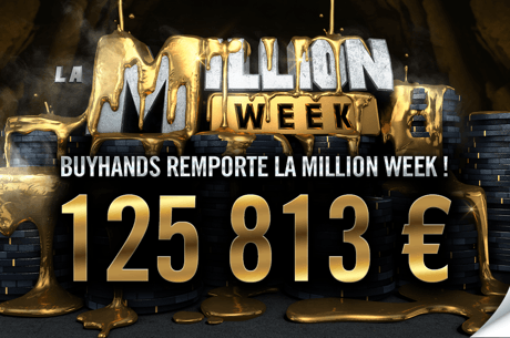 Replay : Un Espagnol encaisse 125.813€ sur la Million Week, Kitbul 20e