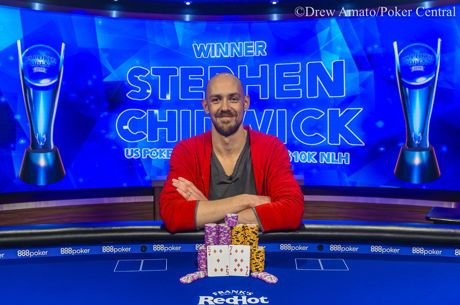Stephen Chidwick Captures Third US Poker Open Title; Takes Down Event #1 for $216,000