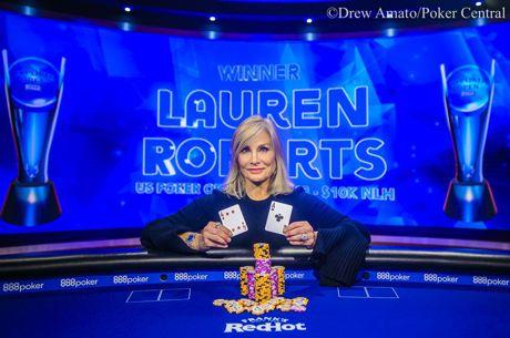 USPO : Lauren Roberts remporte son premier trophée (218,400$)