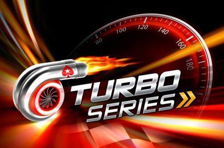 Сателити с над 500 места за Turbo Series Main Event и KO Series сателити със 130 добавени места