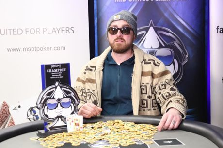 Matt Kirby Wins Canterbury Park Main for $99,573 to Become Three-Time MSPT Champ