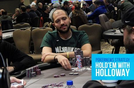 Hold'em with Holloway, Vol. 99: Shoving 10-6 Smack Dab Into Pocket Aces