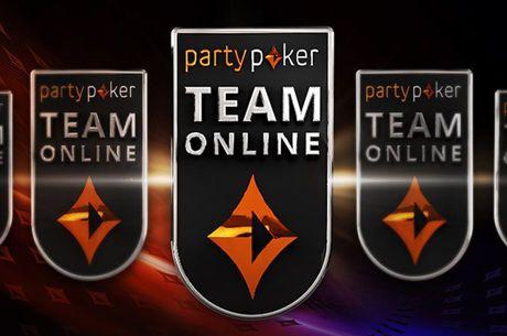 partypoker Anuncia Team Online e Seus 3 Primeiros Integrantes