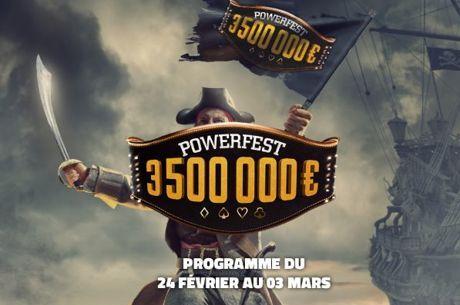 3,5 millions garantis ! Les POWERFEST arrivent sur PMU et Partypoker