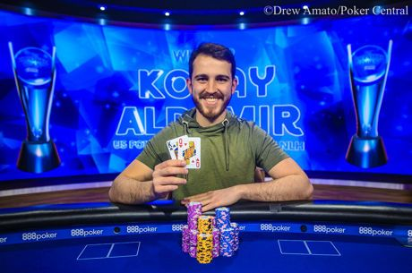 Koray Aldemir Campeão do Evento #9: $50K NLH do USPO 2019