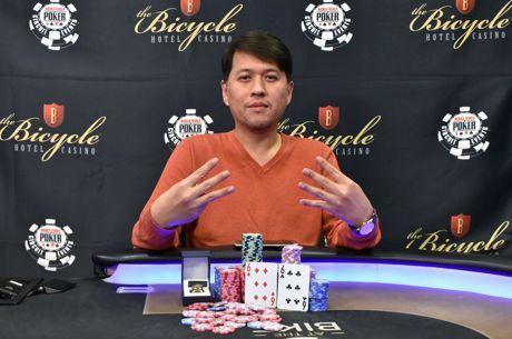 Sean Yu grabbed his seventh WSOPC ring.
