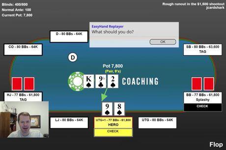 Jonathan Little analizeaza o situatie de turneu frecventa [VIDEO]