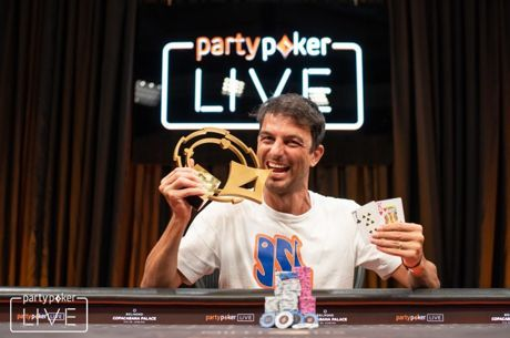 Ênio Bozzano Campeão do Rio Open do partypoker MILLIONS South America