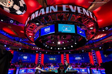 2018 WSOP Main Event final table at the Rio All-Suite Hotel and Casino