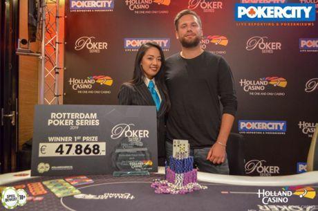 Bart Lybaert sterkste in €3.250 NLH High Roller 8-Max (€47.868) bij Rotterdam Poker Series