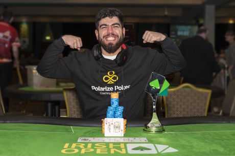 André Marques Campeão no €1.100 NLH 8-Max do Irish Open