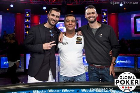Ensan Remains Commanding Chip Leader With Three Remaining; Livingston and Sammartino Advance to Final Day