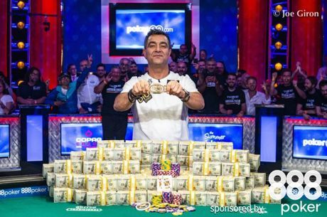 Hossein Ensan Wins the 2019 World Series of Poker Main Event for $10,000,000