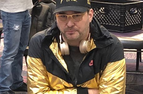 Phil Hellmuth won almost $100K at The Bicycle in the most recent Mega Millions.