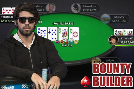 Runner-Up de Manuel Ruivo nas Bounty Builder Series [Cartas Reveladas]