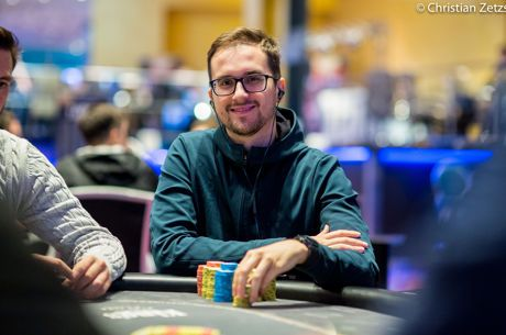 Julien Martini has positioned himself well with less than 50 players left in WSOPE.