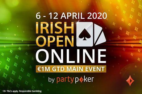 One Week Until Irish Open Online with Satellites Still Running on partypoker!