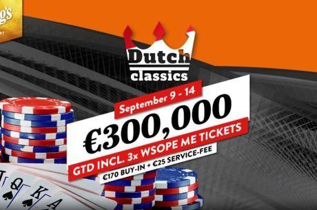 Speelschema van Dutch Classics bekendgemaakt (9 tot en met 14 september)