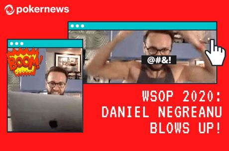 Vídeo: Daniel Negreanu entra em tilt após problemas de software na WSOP Online