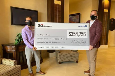 GGPoker Daniel Negreanu was on hand to help donate over $350,000 to Caesar's Cares after the charity tournament success