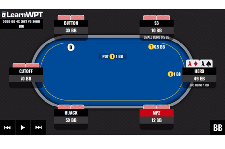 WPT GTO Trainer Hands of the Week: 3-Betting at a Final Table
