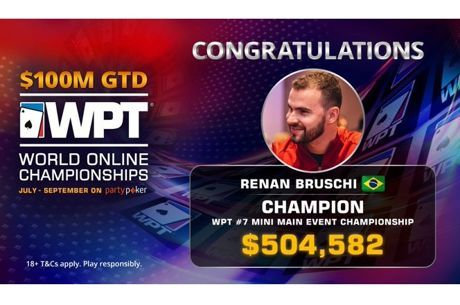 Renan Bruschi Wins WPT WOC Mini Main Event for $504,583 After Four-Way Deal