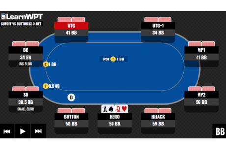 Learn how to defend three-bets on this week's World Poker Tour Game Theory Optimal Trainer Hand of the Week