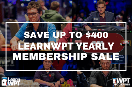 Learn WPT Yearly Membership Sale