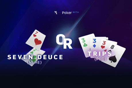 Seven Deuce Trips Run It Once Poker April Fool's Day