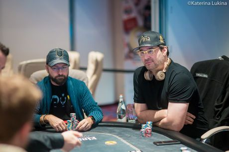 Daniel Negreanu and Phil Hellmuth will face off heads up.