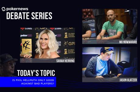 PokerNews Debate Series Phil Hellmuth