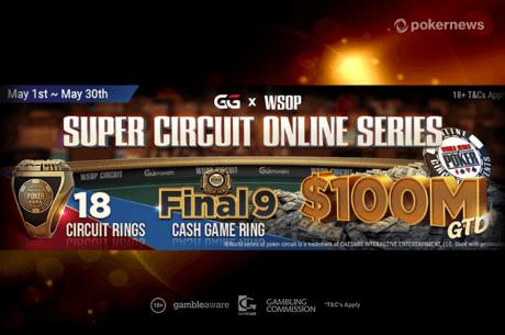 GGPoker WSOP Super Circuit Online Series 2021