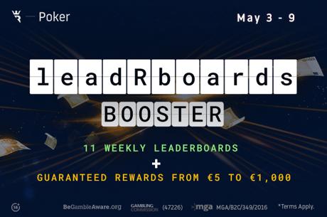 Run It Once Poker leadRboards Booster