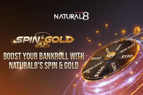 Natural8 Spin & Gold