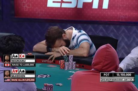 Daniel Negreanu 2015 WSOP Main Event