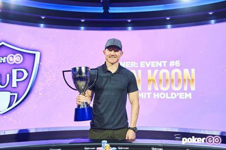 Jason Koon wins PokerGO Cup Event #6