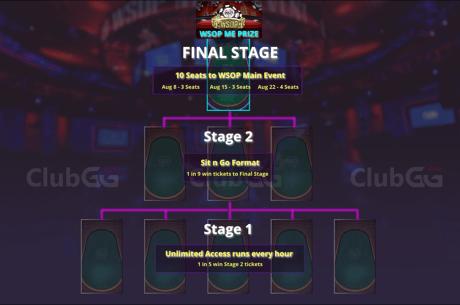 Win WSOP Main Event seats at ClubGG